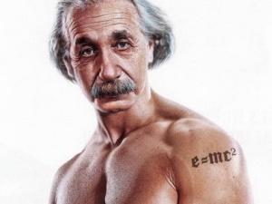 Єврейський університет подав до суду на GM за татуйованого Ейнштейна