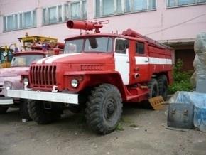 У Луцьку перевернулась пожежна машина