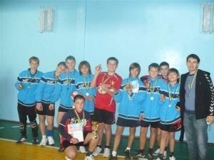 У Нововолинську пройшли юнацькі змагання з гандболу