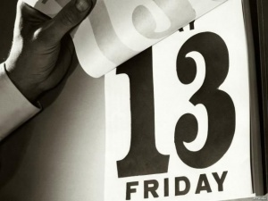 Нинішня п'ятниця 13-го буде спокійнішою, ніж вчорашній день