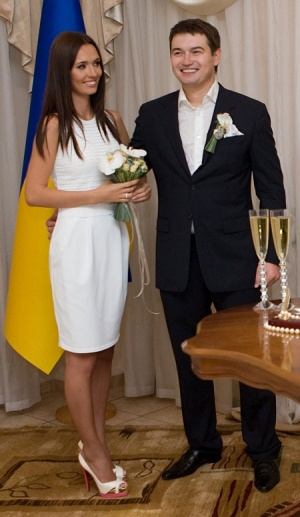 Андрій Ющенко несподівано одружився