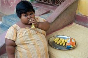 5-річна індійка важить 84 кг