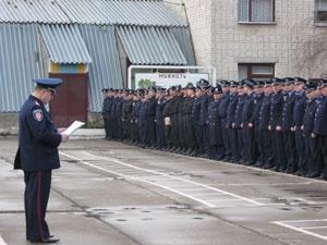 Більше п'ятисот міліціянтів охоронятимуть громадський порядок на Великдень