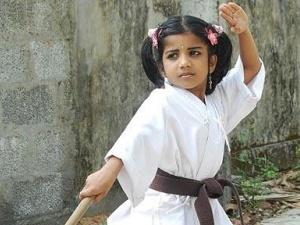 5-річна дівчинка отримала чорний пояс із карате