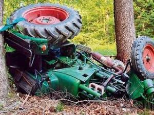Німецькі поліцейські 40 хвилин переслідували повільний трактор з п'яним викрадачем