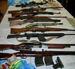 В Ягодині вилучили 14 контрабандних гвинтівок