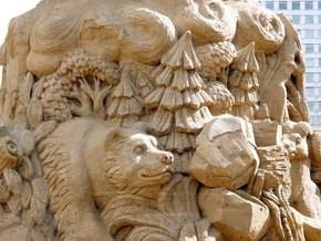 30 травня в Києві відкриється виставка пісочних скульптур