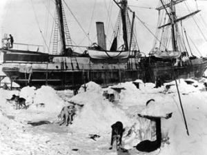 П'ять ящиків 100-річного віскі знайшли в льодах Антарктиди