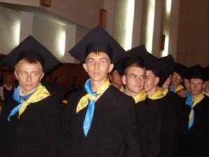 На посвяті в студенти у ВНУ Борис Клімчук став почесним студентом