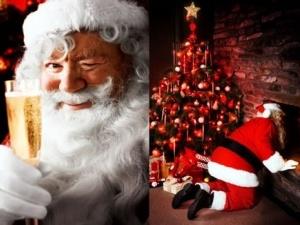 Санта-Клаус пропагує ожиріння та пияцтво за кермом