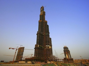Відкриття найвищої у світі будівлі - Burj Dubai – відтерміновується