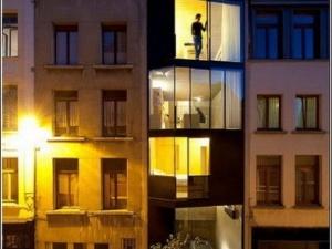 Зведено найменший у світі чотириповерховий будинок