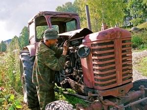 У Росії фермер замінував свій город