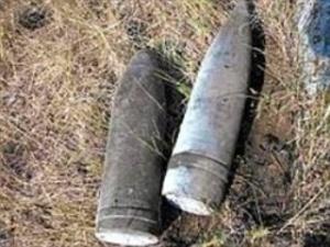 Волиняни знайшли 3 артилерійські боєприпаси часів війни