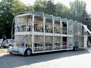 У Білорусі з'явився автобус-кафе
