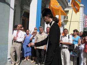 В річницю Народного Руху в Луцьку встановили пам'ятну дошку