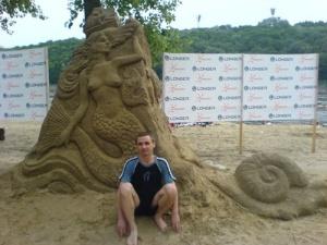 У Києві пройшла виставка пісочних скульптур
